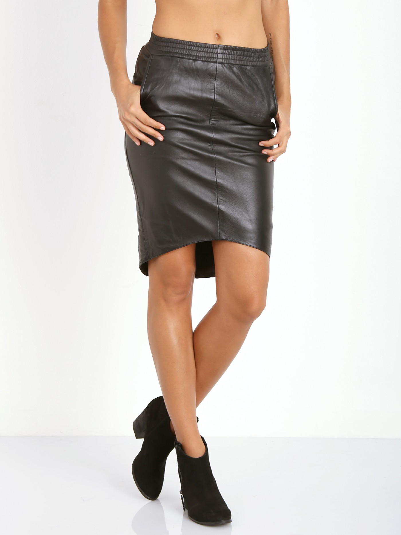 41ab628428 One Teaspoon Awesome Leather Skirt 15780B - Free Shipping at Largo Drive