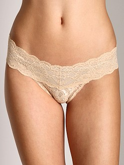 Cosabella Never Say Never Low Rise Cutie Thong Blush
