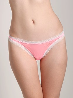 Cosabella Dream Low Rise Thong Neon Rose