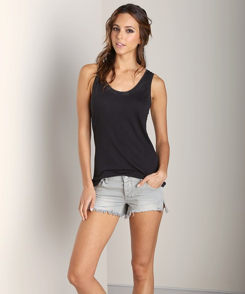 Cotton Citizen Loose Tank Black