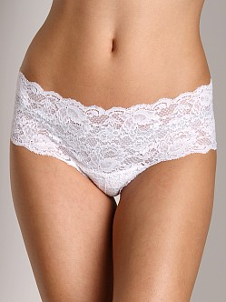 Cosabella Never Say Never Low Rise Hottie Hotpants White