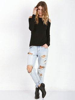 LNA Clothing Ashley Jane Top Black