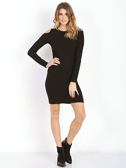 LNA Clothing Jasmine Dress Black