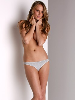 Cosabella Low Rise Talco Thong Heather Gray