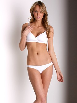 Cosabella Low Rise Talco Thong White