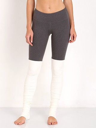 alo Goddess Legging Storm Heather/Natural