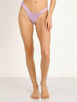 Monica Hansen Beachwear Bardot Collection Bikini Bottom Violet S
