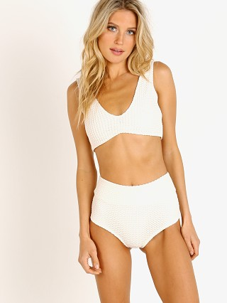 Complete the look: Montce Kim Scrunch Bikini Top Bone Crochet