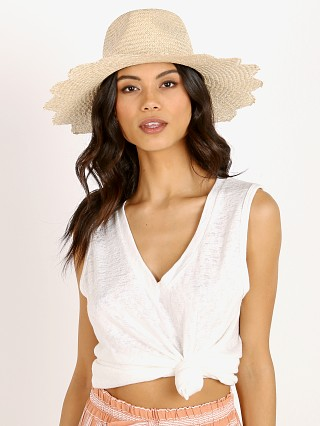 Model in light tan Brixton Blakely Fedora Hat