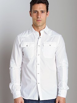 G-Star Construct Shirt White