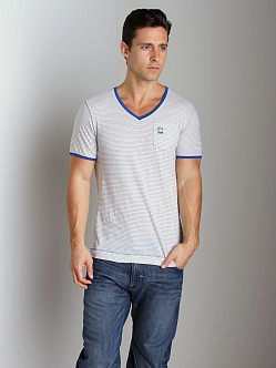 G-Star RCT Brad V-Neck Shirt True Blue