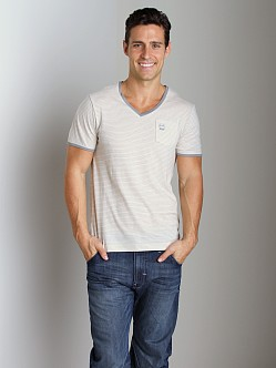 G-Star RCT Brad V-Neck Shirt Winter Grey