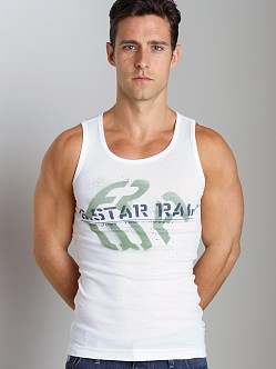 G-Star ART Demak Tank Top White
