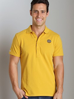 G-Star ART Honda Polo Shirt Field Yellow