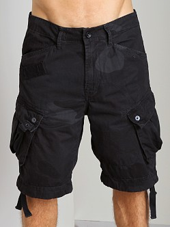 G-Star RCO Rovic Loose Camouflage Shorts Raven