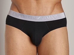 Emporio Armani Cotton Modal Brief Black