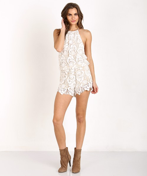 Winston White Delano Romper Feather