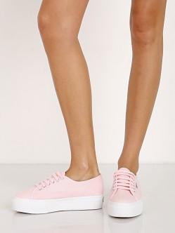 Superga Pastel Platform Sneaker Light Pink 2790 Free