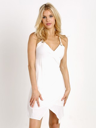 MinkPink Desert Wanderer Cross Dress White
