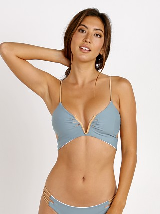 KOA Swim Sunrise Bikini Top Moonstone/White