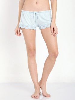 Eberjey India Shortie Light Aqua