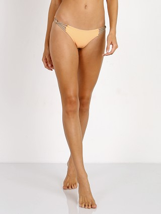 KOA Swim Sahara Reversible Bikini Bottom Peach/Tan