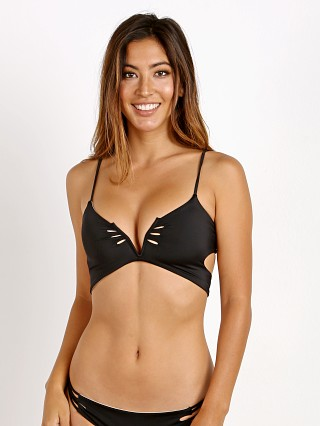 KOA Swim Sunrise Bikini Reversible Top Tan/Black