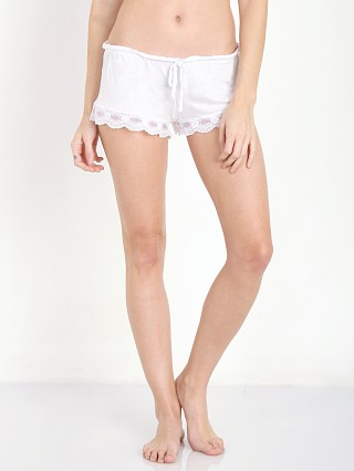 Complete the look: Eberjey India Shortie White