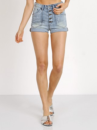 One Teaspoon Hellcat Harlets Denim Short
