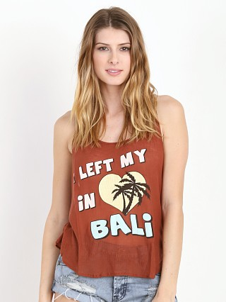 WILDFOX I Left My Heart in Bali Hiker Tank Road Trip
