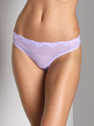 Timpa Duet Lace Low Rise Thong Lilac
