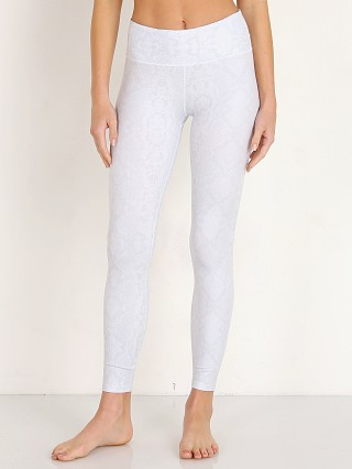 Varley Crenshaw Legging Tight White Snake