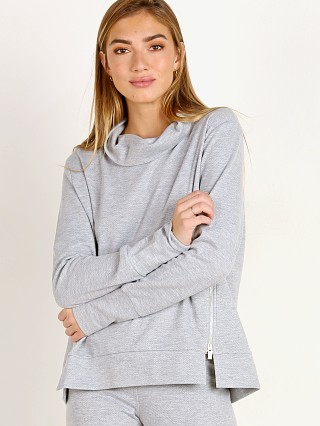 Varley Clement Sweat Heather Grey