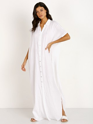 Acacia Oahu Dress White