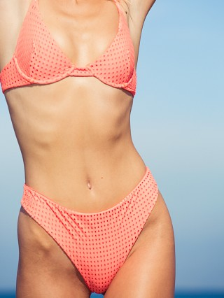 You may also like: Acacia Mesh Brazil Bikini Bottom Neon Melon