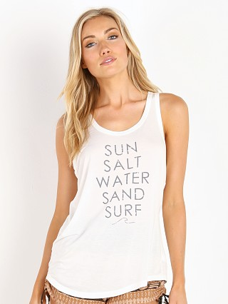 Stillwater The Perfect Tank Sun Salt Sand Surf White