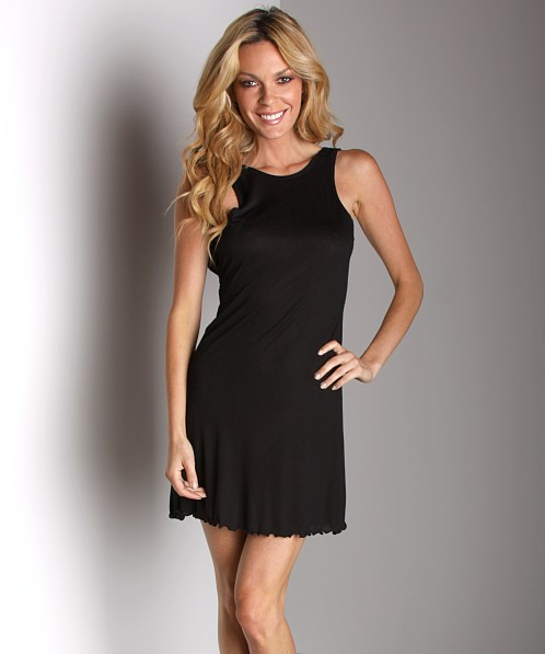 Keep Me Anne Maire Tieback Nighty Black