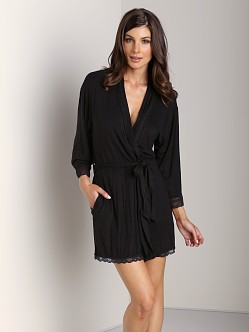 Juicy Couture Sleep Essentials Robe Black