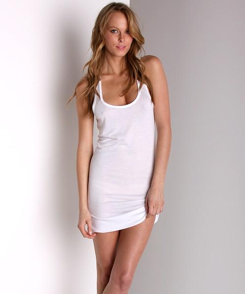 28f30b80 Keep Me Jenny Racerback Chemise White Jenny - Free Shipping at Largo Drive