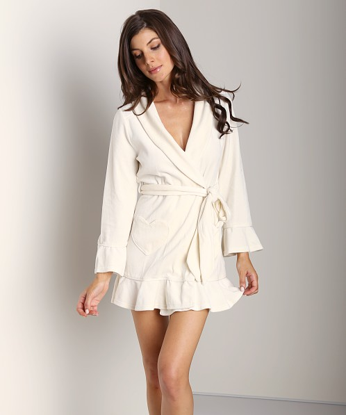 Juicy Couture Velour Robe Angel 9JMS1674 - Free Shipping at Largo Drive