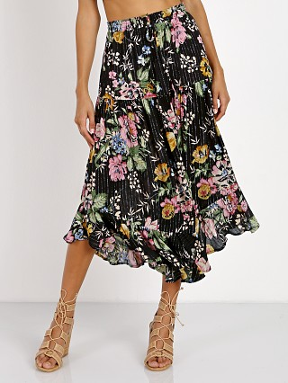 Auguste Havana Nights Delilah Frilled Midi Skirt Delilah Bloom