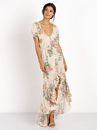 Auguste Havana Nights Delilah Frill Maxi Dress Delilah Bloom Na