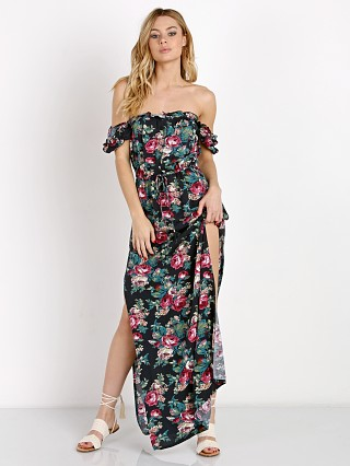 Auguste Havana Nights Stevie Maxi Dress Vintage Heart Black