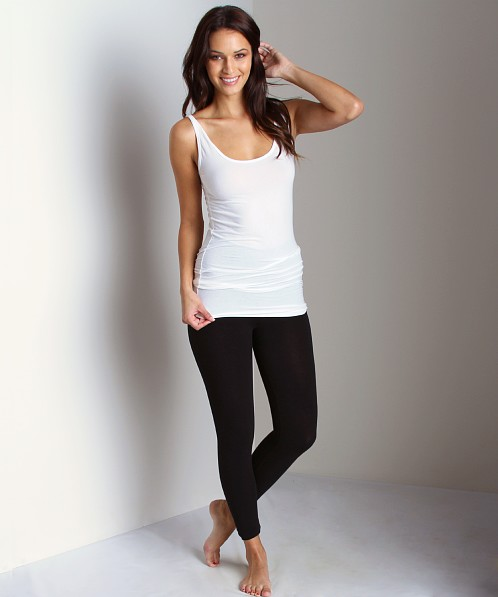 SPANX Look-At-Me Cotton Leggings Black