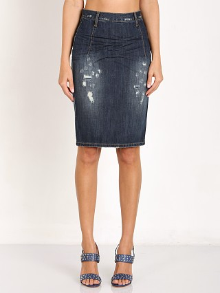 Complete the look: One Teaspoon Cowboy Freelove Denim Skirt