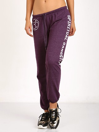 Spiritual Gangster OM Sweatpant Raisin