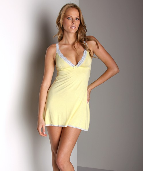 Honeydew Rayon Babydoll Tender Yellow