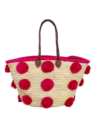 Soeur du Maroc The Marrakesh Pom Pom Grande Fuschia