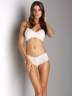 Honeydew Sweet Heart Lace Bra Vanilla