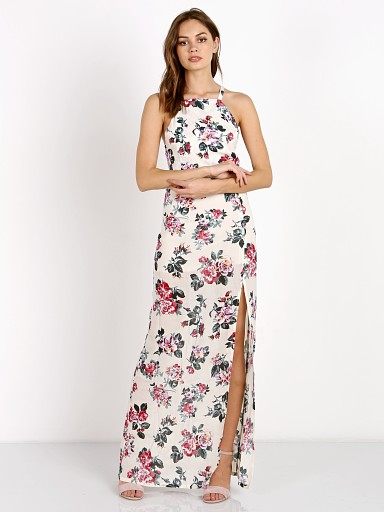 Roe + May Lido Maxi Vintage Floral